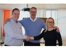 Avtal signerat för Powered by Kramp hos Maskingruppen i Eslöv