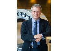 Alrik Danielson, VD och koncernchef SKF talar på Maintenance Summit.