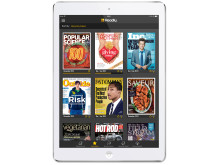Readle on tablet (white)