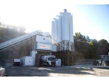Swerocks klimatsmartaste betongfabrik i Kållered
