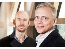 Lars Hammarström och Patrik Ernfors, forskarna bakom Glionova