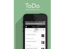ToDo as an app - teamwork visualized