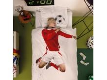 Snurk sängkläder - Fotbollsspelare
