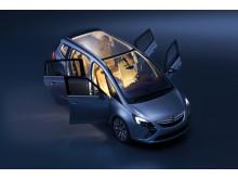 Zafira Concept på bilsalongen i Genève 2011