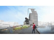 Visualisering Museumsutstikkeren J&L Gibbons