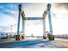 Hi-res image - Karpaz Gate Marina - The dry dock area at Karpaz Gate Marina