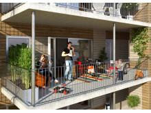 Pressmeddelande: HSB säljstartar 230 lägenheter på Hisingen.