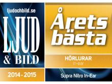 SUPRA NiTRO - Årets Bästa Hörlurar in-ear