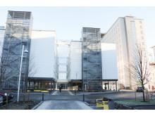 Norrlands universitetssjukhus, västra entrén.
