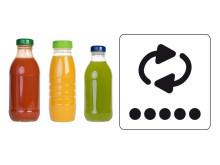 Saft og juice og pantmærke
