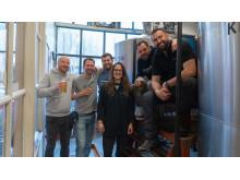 Collaboration Brew mit der Karlsberg Brauerei und der Big Time Brewery in Seattle