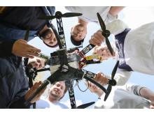 Studenter utvecklar självflygande drönare