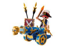 PLAYMOBIL Pirates mit cooler App-Kanone