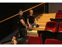 Alexander och Apid är elever vid Bräckegymnasiet i Göteborg