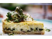 Marknadens första grönkål- och fetaostpaj till restaurang och storhushåll.