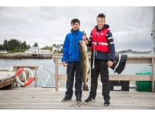 Рыбалке в Норвегии все возрасты покорны!