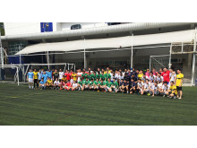 Alumni from eight schools join the 2nd NIST Inter-School Alumni Soccer Tournament