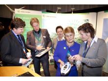 Umeå Energi medverkade vid EU:s ministermöte i Umeå, 14-16 oktober 2009