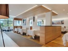 Der Speisesaal im Restaurant und Gourmet Hotel Lindenhof
