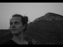 Alexander Zethson framför berg
