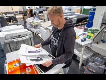 Kai Eriksen hos PULP Grafisk