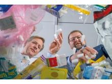 Plastavfall blir värdefull råvara för nya produkter