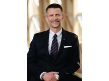 Urban Englund, tandläkare och styrelseordförande i Praktikertjänst