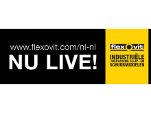 Banner Flexovit - NU LIVE