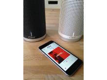 Kostnadsfri Clint app för både iOS och Android.