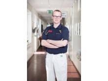 Petter Tuorda, verksamhetschef och distriktsläkare på Cederkliniken.