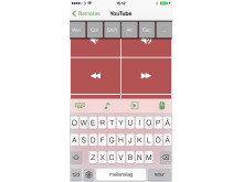 Unified Remote till iOS - Exempel, YouTube