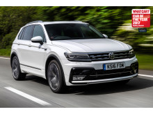 The VW Tiguan - Thatcham Research sponsored What Car? Safety Award 2017 Runner-Up