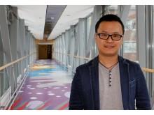 Longqing Yi, forskare på institutionen för fysik på Chalmers.
