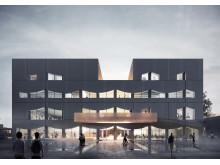 Stadsdelshus med rum för kultur - Selma stad, ext