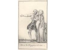 Illustrations from Joseph Franz von Goetz, Lenardo und Blandine, 1783
