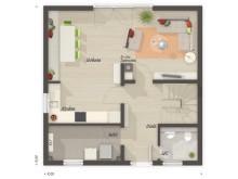 Stadthaus 100 mit Grundrissen