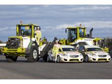 Volvo Green Racing - Volvo L70F och C30