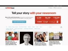 New Mynewsdesk homepage