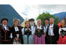 Jodeln, Unspunnenfest Interlaken / Quelle: Verein Unspunnenfest