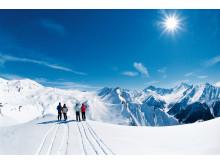 SAMNAUN - Die Weiten der Silvretta Arena im Winter (Graubünden).