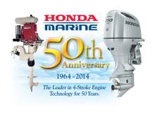 Honda Marine fyller 50 år