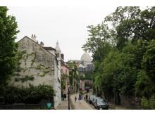 Montmartre i Paris