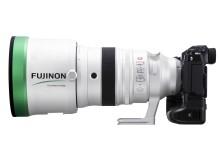 FUJINON XF200mmF2 R LM OIS WR - Left side + X-H1