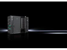 Edge Data Center findes i mange forskellige designs, som her en sikker løsning til Industri 4.0-applikationer.