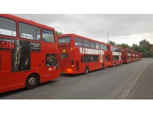 Great North Run bus line up