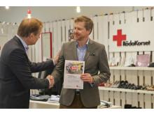 Röda Korset tackar Swedavia för givande samarbete