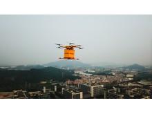DHL Drone i Guangzhou, Kina