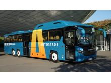Scania Interlink CNG im Einsatz für die Autostadt