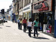 Moray Elgin Shopping