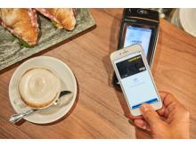 Apple Pay_iPhone_comdirect_Visa